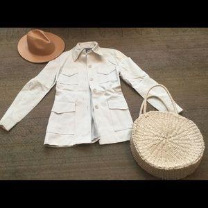 Banana Republic vintage safari shirt jacket